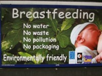 Breastfeeding is GREEN