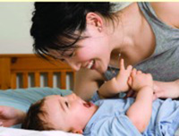 Breastfeeding Mothers can get more sleep